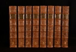 1744-1746 8vol The Harleian Miscellany Collection of Pamphlets Harley Selbourne