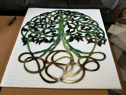 Large Metal Wall Art Tree Of Life Indoor/outdoor Deck Porch Patio Kitchen Decor
