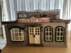 Sylvanian Families Calico Critters Restaurant Forest Vintage 10620