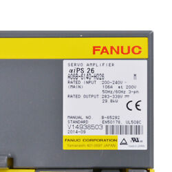 100% Original Fanuc Driver A06B-6140-H026 In Good Condition With Cheap Price