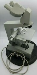 Aus Jena Microscope With Light And Condenser 649372
