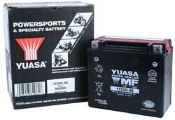 Yuasa Ytx20l-bs Harley Davidson Fxd/fxst Series Dyna 91-and03996 Agm 12v Battery