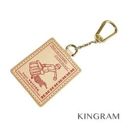 LOUIS VUITTON Groom Porto Cle VVN Charm Hotel Man M85047 Red Key holder from Jp