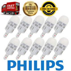 Philips 10X Red Signaling LED Instrument Panel Light Bulb For 1964-1970 442