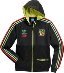 New Adidas Original Starwars Iconic Black Jacket Mens Rasta Bob A Fett V32822
