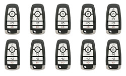 TEN OEM 5 Button FORD FUSION EDGE & EXPEDITION Keyless Entry Remote w Keys