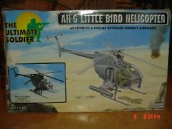 21st Century Ultimate Soldier 1/6 Little Bird Night Ops Black Ah-6 Helicopter