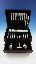 Nocturne By Gorham Sterling Silver Flatware Service For 8 Set 38 Pieces