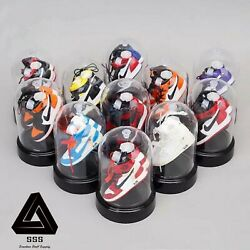 Mini Sneaker Capsule Display Set Showcase with Clear 360 View