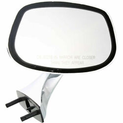 New Right Side Chrome Manual Mirror Non Heated Fits Chevrolet Caprice Gm1321130