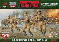 Battlefront FoW WWII Soviet 15mm Strelkovy Company (2nd Edition) Box SW
