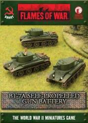 Battlefront FoW WWII Soviet 15mm BT-7A Self-Propelled Gun Battery Box SW