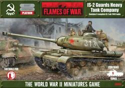 Battlefront FoW WWII Soviet 15mm IS-2 Guards Heavy Tank Company Box SW