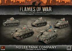 Battlefront FoW WWII Soviet 15mm M3 Lee Tank Company Box SW
