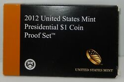 2012 Us Mint Issued Presidential 1 Proof Set