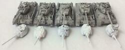 Battlefront FoW WWII Soviet 15mm Loose Mini T-34 Tanks #14 NM
