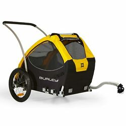 Burley Design Tail Wagon Bike Trailer YellowBlack