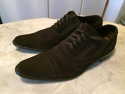 DONALD J. PLINER JUAN ITALY derby pointy winklepicker dress mens shoes sz 8.5 M