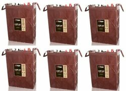 Replacement Battery For Trojan L16p-ac-6-pack 36v