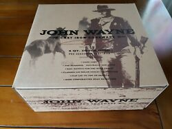 Rare NEVER USED John Wayne 4 Quart Qt Hand Cast Iron Dutch Oven w Griddle Lid