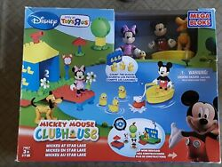 Mega Bloks Mickey Mouse Clubhouse Builds At Star Lake Supper Rare New A8