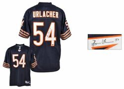 Brian Urlacher Autographed Jersey   Details Chicago Bears, Reebok, Replithentic