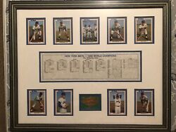 New York Mets Dream Team Collectables 1969 Champs Frame Baseball Card Collection