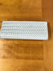 La Regale Silver Clutch Handbag $10.00