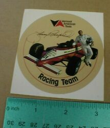 Vtg Vermont American Tools Team Johnny Rutherford Indy Racing Decal Sticker