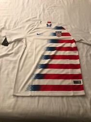 Nike Team Usa Jersey Soccer 2018 Youth Unisex Size Xl Nwt
