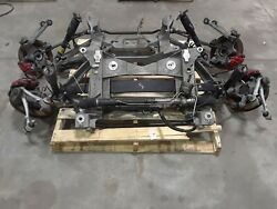 97-04 Corvette C5 Front And Rear Suspension Control Arms Brakes Aa6456