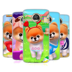 BOO-THE WORLD'S CUTEST DOG CHARACTER ART SOFT GEL CASE FOR MOTOROLA PHONES