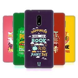 HEAD CASE DESIGNS ILLUSTRATION TYPOGRAPHY GEL CASE FOR NOKIA PHONES 1