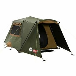 New Coleman Instant Up Gold 6PV Dark Room Tent Gazebo Camping Hiking Heavy Duty