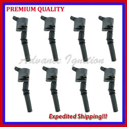 8pc Ignition Coil Ufd267 For Lincoln Town Car 4.6l V8 1998 1999 2000 2001 2002