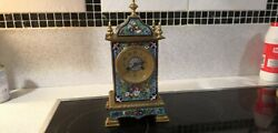 French Antique Carriage Clock By Edwards And Sons Glasgowandnbsp