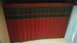 1940 Edition Vintage Compton's Pictured Encyclopedia And Fact Index Complete Set