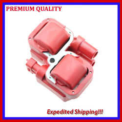 1pc High Energy Ignition Coil Emb320r For Mercedes-benz S500 5.0l V8 2002 2003