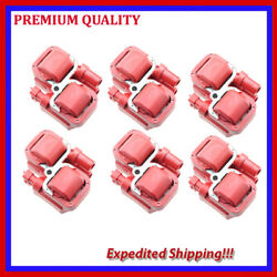 6pc High Energy Ignition Coil Emb320r For Mercedes-benz Ml350 3.7l V6 2003 2004