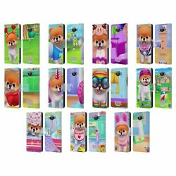BOO-THE WORLD'S CUTEST DOG CHARACTER ART LEATHER BOOK WALLET CASE FOR SAMSUNG 2