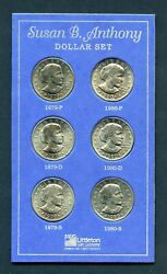 United States 1979/1980 Pdand S Susan B. Anthony Dollars You Do The Grading