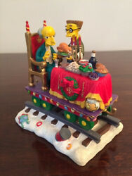 Simpsons Hamilton Christmas Express Train A Feast For One – 04 – Used