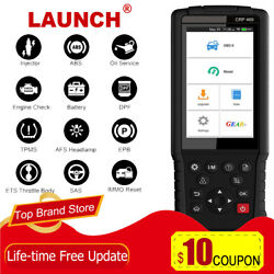Launch Crp469 Obd2 Diagnostic Tool Automotive Scanner Bms Dpf Abs Immo Tpms Tool