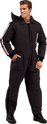 Black Military Cold Weather Ski And Rescue Coveralls Suit