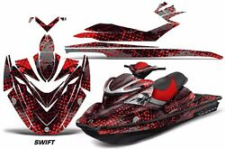 Jet Ski Graphics Kit Decal Sticker Wrap For Sea-doo Rxp 215 2004-2011 Swift Red