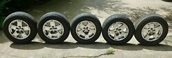 (5x) Very Nice OEM 2005 - 2007 Jeep Grand Cherokee Wheels 17