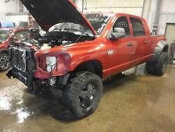 2007 DODGE 3500 PICKUP Front Axle Assembly (4 wheel ABS) 3.73 ratio