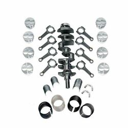 New Forged Scat Rotating Assembly I-beam Rods Fits Ford 351 Main 408 1-94306bi