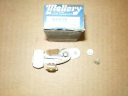 Nos 1950s Ford Edsel Mercury Truck Mallory Heavy Duty Contact Set 24831