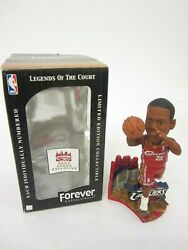 Lebron James Cleveland Cavaliers Gund Arena Red Jersey Exclusive Bobblehead